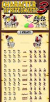 Knights vs Undead - Game Sprites by pzUH
