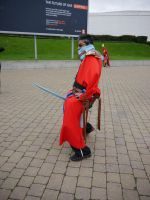 What Auron did with Bartz's sword... MCM Oct '12 by KaniKaniza