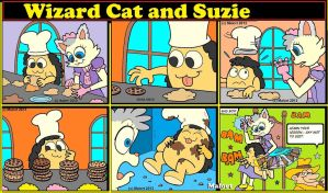 Wizardcat And Suzie Cookies by Malort75