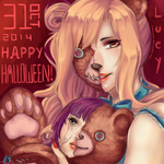 Happy super early Halloween! by Hammustar