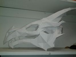 Skyrim Dragon Skull by NachtRuine