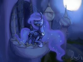 Here in my garden of shadows~ by Alumx