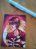 ACEO:Troy by lilYumi-chan