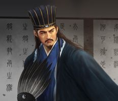 Zhuge Liang by jasonlan