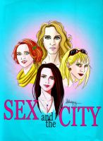 Sex and the City Poster by Loleia