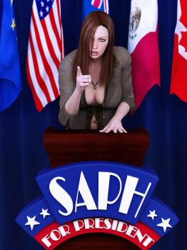 saph for president by SaphireNishi