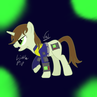 Littlepip by valkryxia