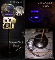 Steampunk UV Lamp by Steampunked-Out