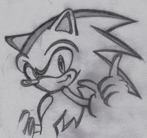 Sonic The Hedgehog by nobody-cares