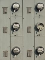 Outdoor Utility Meters by FantasyStock