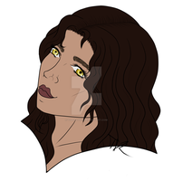 Emilie Trevelyan headshot by Tiger-Lylli