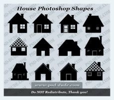 House Custom Shape by PsdDude