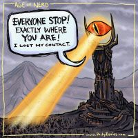Behold the Eye of Sauron! by RockyDavies
