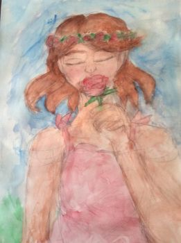 Second Water Coloring by RoseMaylieGottschalk
