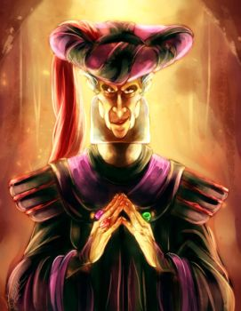 Frollo Coloring Page by DrMistyTang