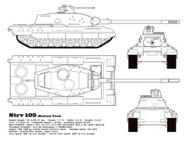 Stridsvagn 105 by Snowskau