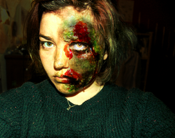 Zombie Makeup 2 by Keckzzz