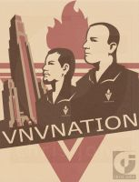 - VNV NATION - poster by fall0ut4d2