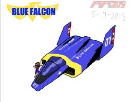 07--Blue Falcon by revivedracer209
