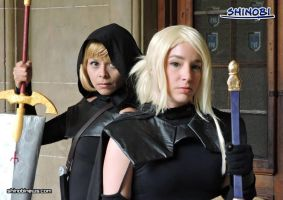 Claymore Clare y Myria by andycold