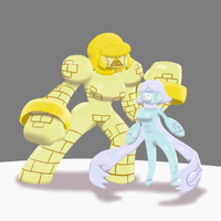 Sayokolite Subjects 0124 and 0125 by PainfulElegy