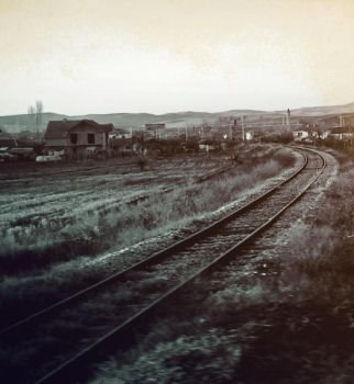 railway, remains of a journey by evelynglyn