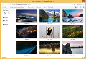 Bing Wallpapers (2013) October 01 - 31 by Misaki2009