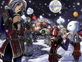 FFXI - Happy Holidays 2004 by gem2niki