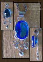 Topaz Pendant 02 by linessa