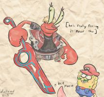 Are U Feeling it Now Mr Krabs? by DullVivid