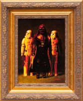 Darth Vader and Stoormtroopers by matsgunnarsson