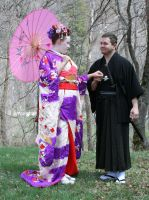 Ode To Kyoto Couple 2 by Falln-Stock