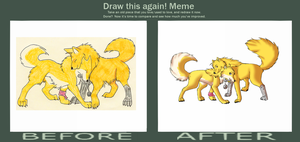 Before and After MEME by Wolven-Sorceress