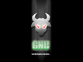 GNU - Let the source run free by Adrenalize81