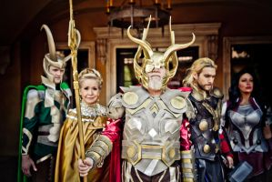 Asgardian family by agfrx7