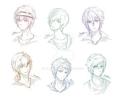 Headshots: krbsoc by naotorii
