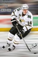 Jamie Benn - Dallas Stars Portrait by Sammzor