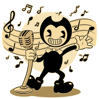 Bendy at the Musical Times (Contest Entry) by CrazyPlantMae