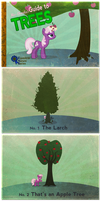 Miss Cheerilee's Guide to Trees by PixelKitties