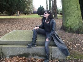 Gothic model by lexy-stock