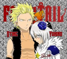 Sting and Yukino by RoysRoys