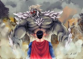 Man of Steel V Doomsday by Frostbite194