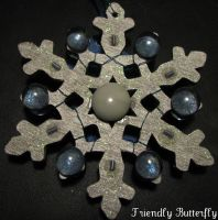 Snowflake Ornament by FriendlyButterfly