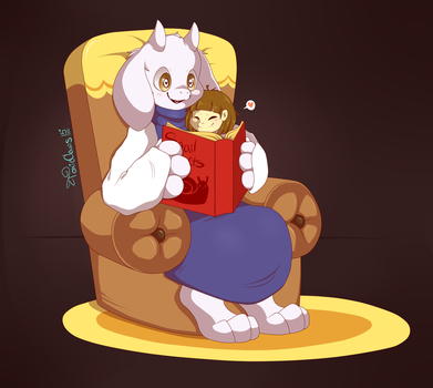 : Time for a story! : by TOXIKAIJU