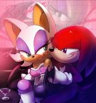 Rouge and Knuckles by nancher