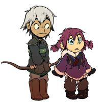 young Taini and Koban by Psychoon