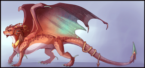 Day 7: Copper Dragon Design by Taluns