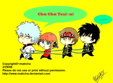 Gintama Chu Chu Train by amaguri