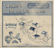Baker's Motor Carriages by Alt-Reality