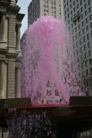 Philly Pink Water Fountain by kingkool6